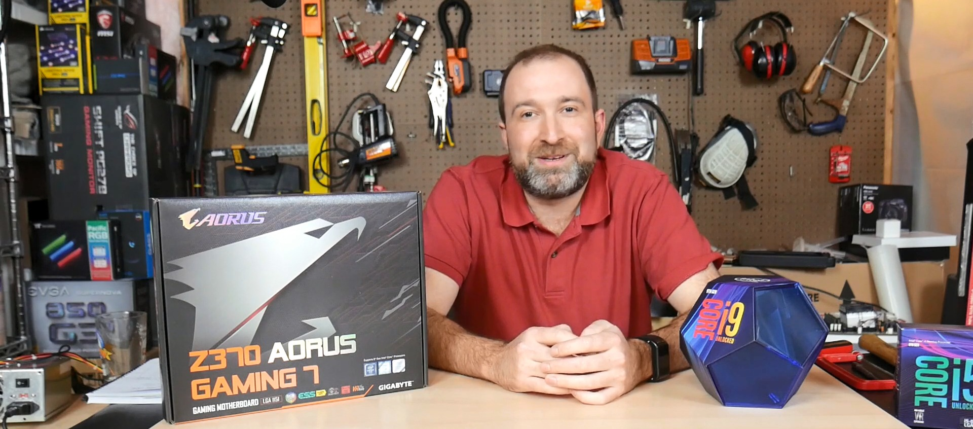 Review: Intel i9-9900K vs.GIGABYTE Z370 AORUS Gaming 7